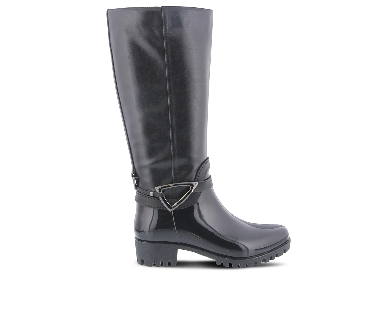SPRING STEP Nendia Women's Boots (Black Faux Leather)