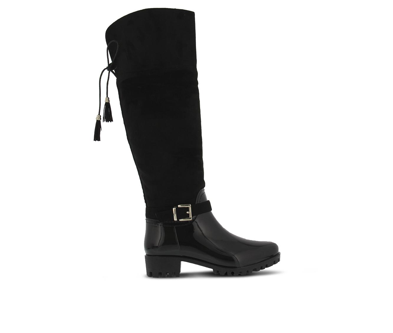 SPRING STEP Mattie Women's Boots (Black Faux Leather)