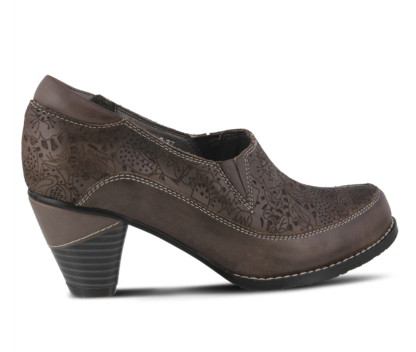 L'Artiste Liboreel Women's Dress Shoe (Brown Leather)