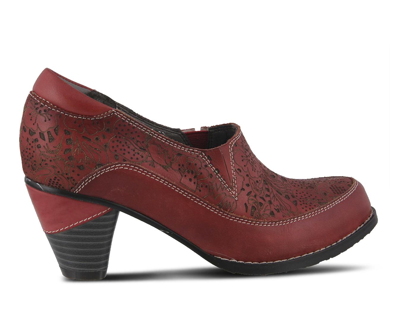 L'Artiste Liboreel Women's Dress Shoe (Red Leather)