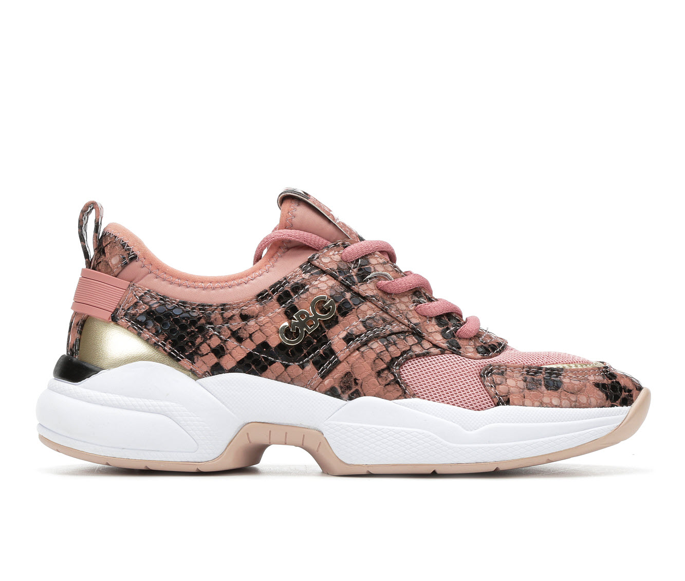 G By Guess Jimmi Women's Shoe (Pink Faux Leather)