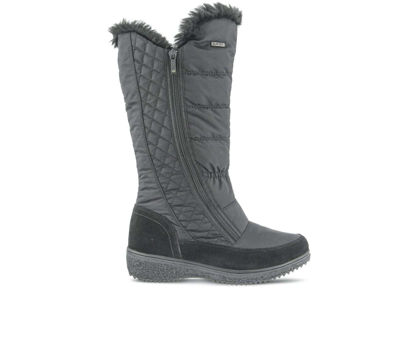 Flexus Mireya Women's Boots (Black Canvas)