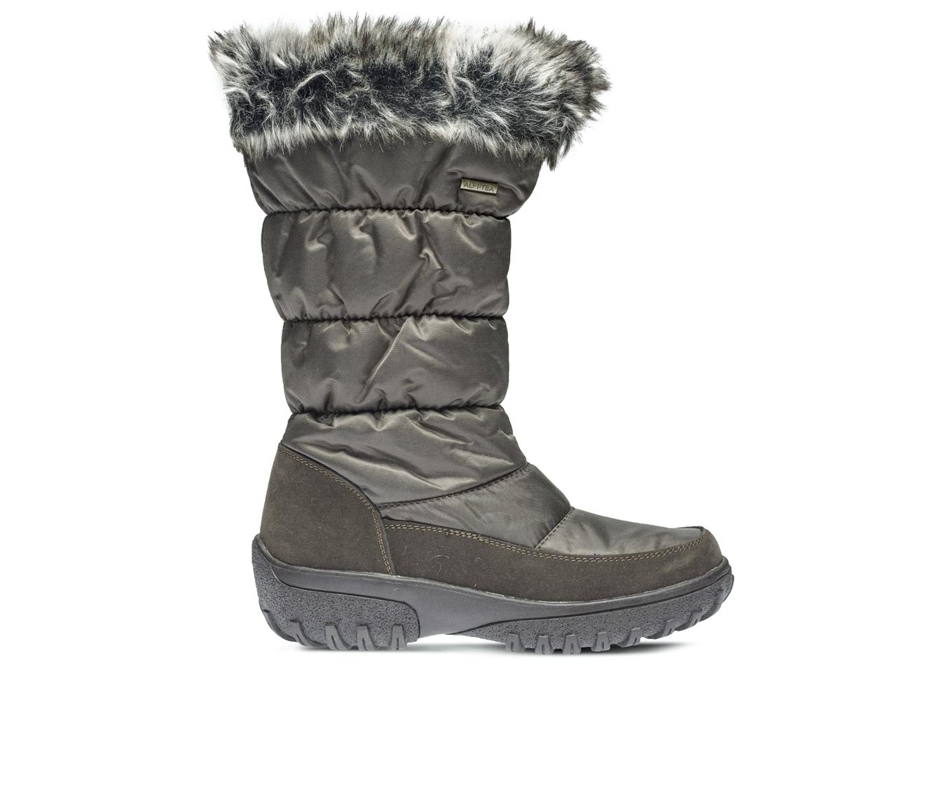 Flexus Vanish Women's Boots (Brown Canvas)