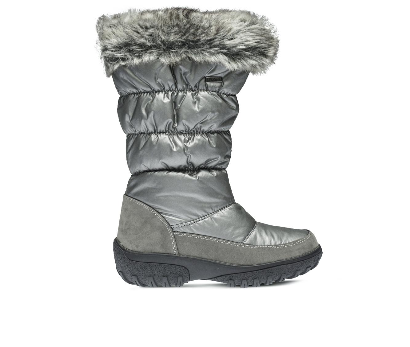 Flexus Vanish Women's Boots (Silver Canvas)