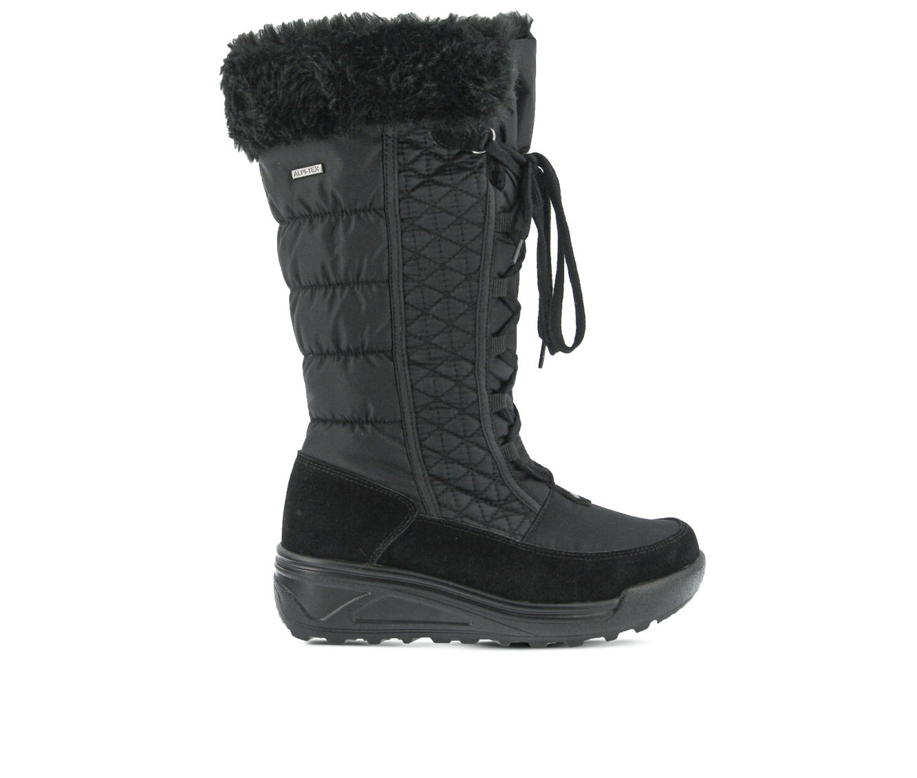 Flexus Fotios Women's Boots (Black Canvas)
