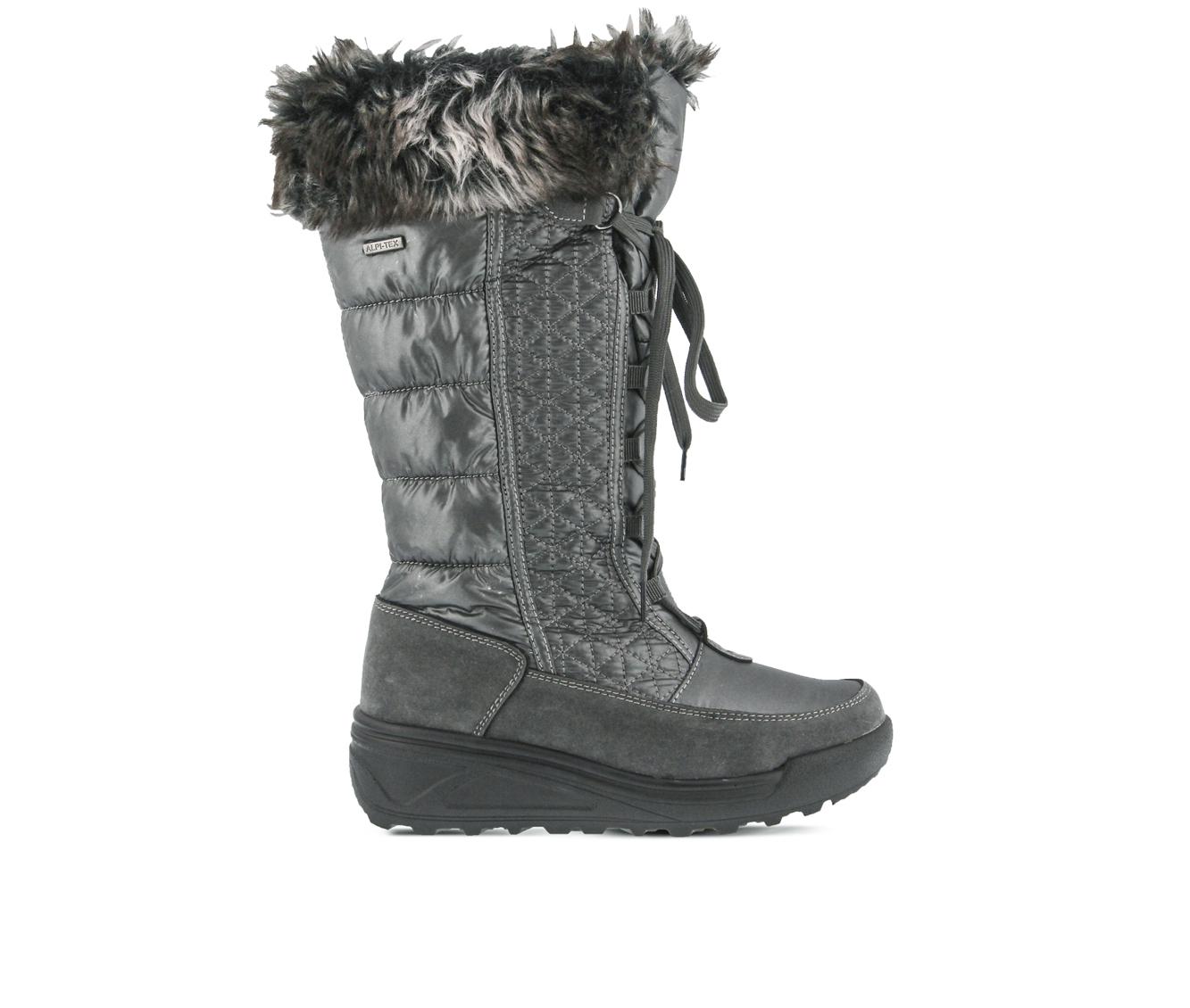 Flexus Fotios Women's Boots (Gray Canvas)