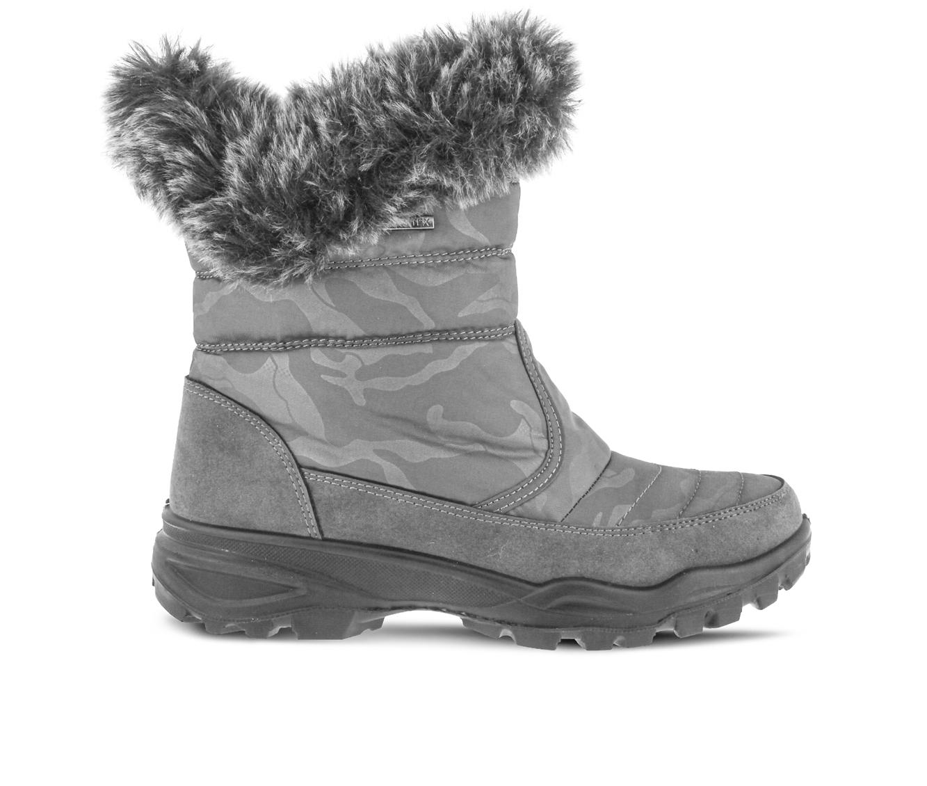 Flexus Korine Women's Boots (Gray Canvas)