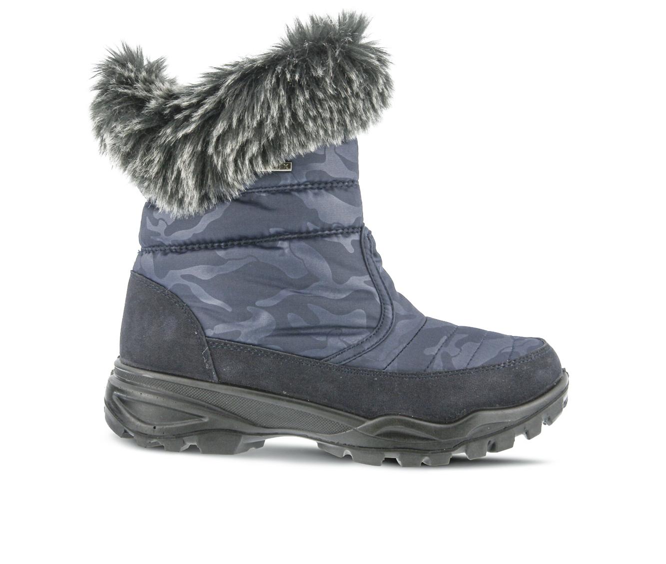 Flexus Korine Women's Boots (Blue Canvas)