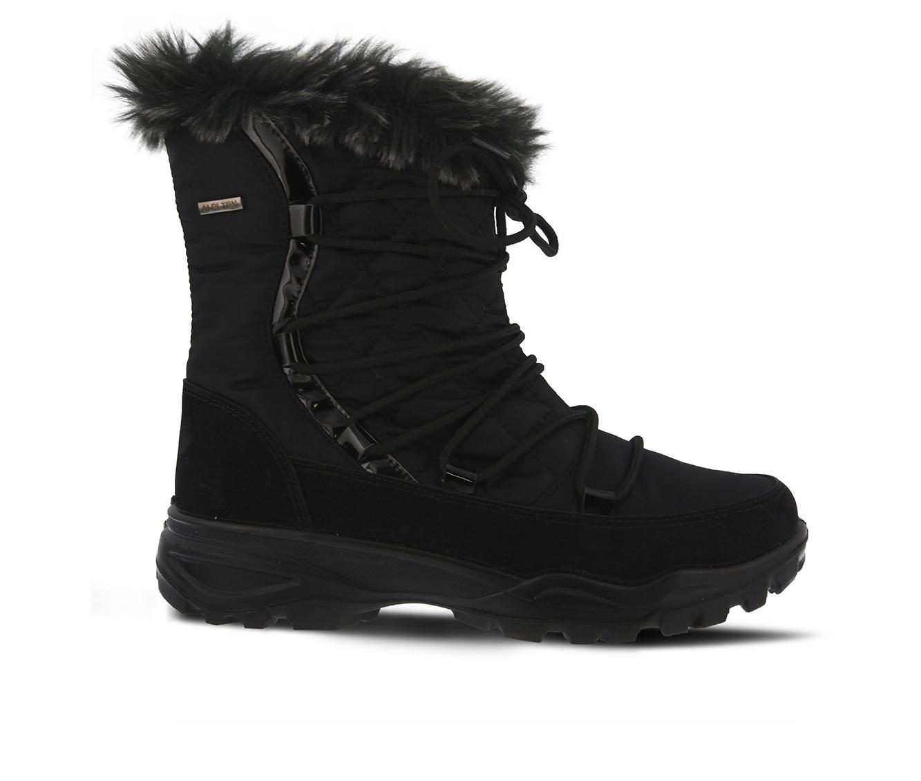 Flexus Denilia Women's Boots (Black Canvas)