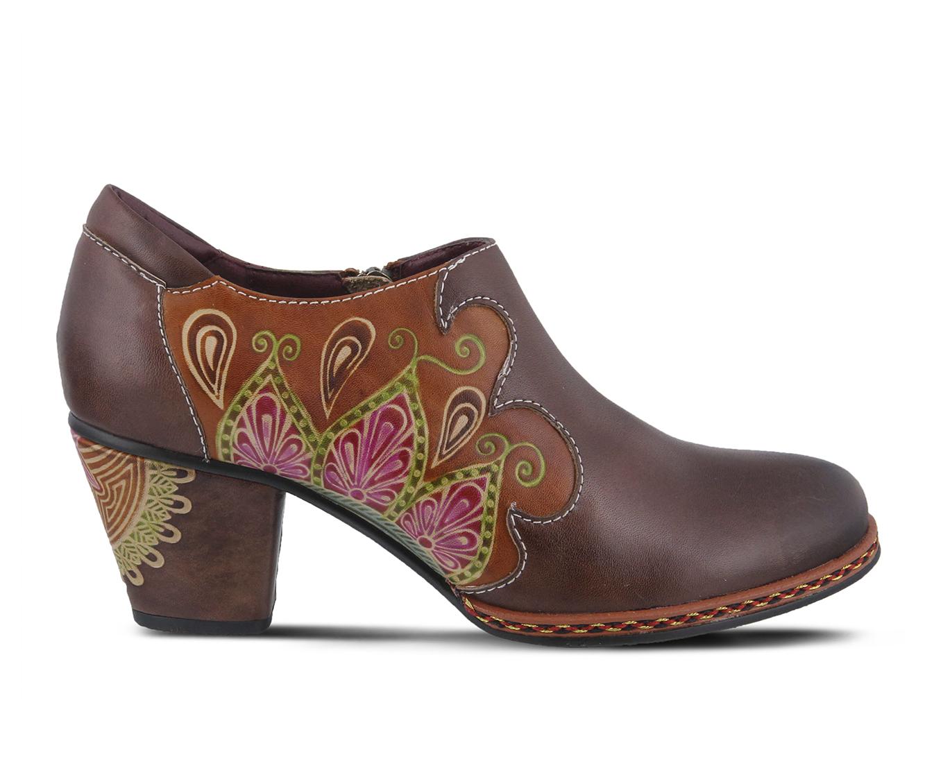 L'Artiste Zami Women's Dress Shoe (Black Leather)