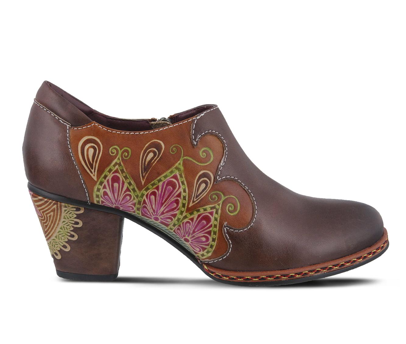 L'Artiste Zami Women's Dress Shoe (Brown Leather)