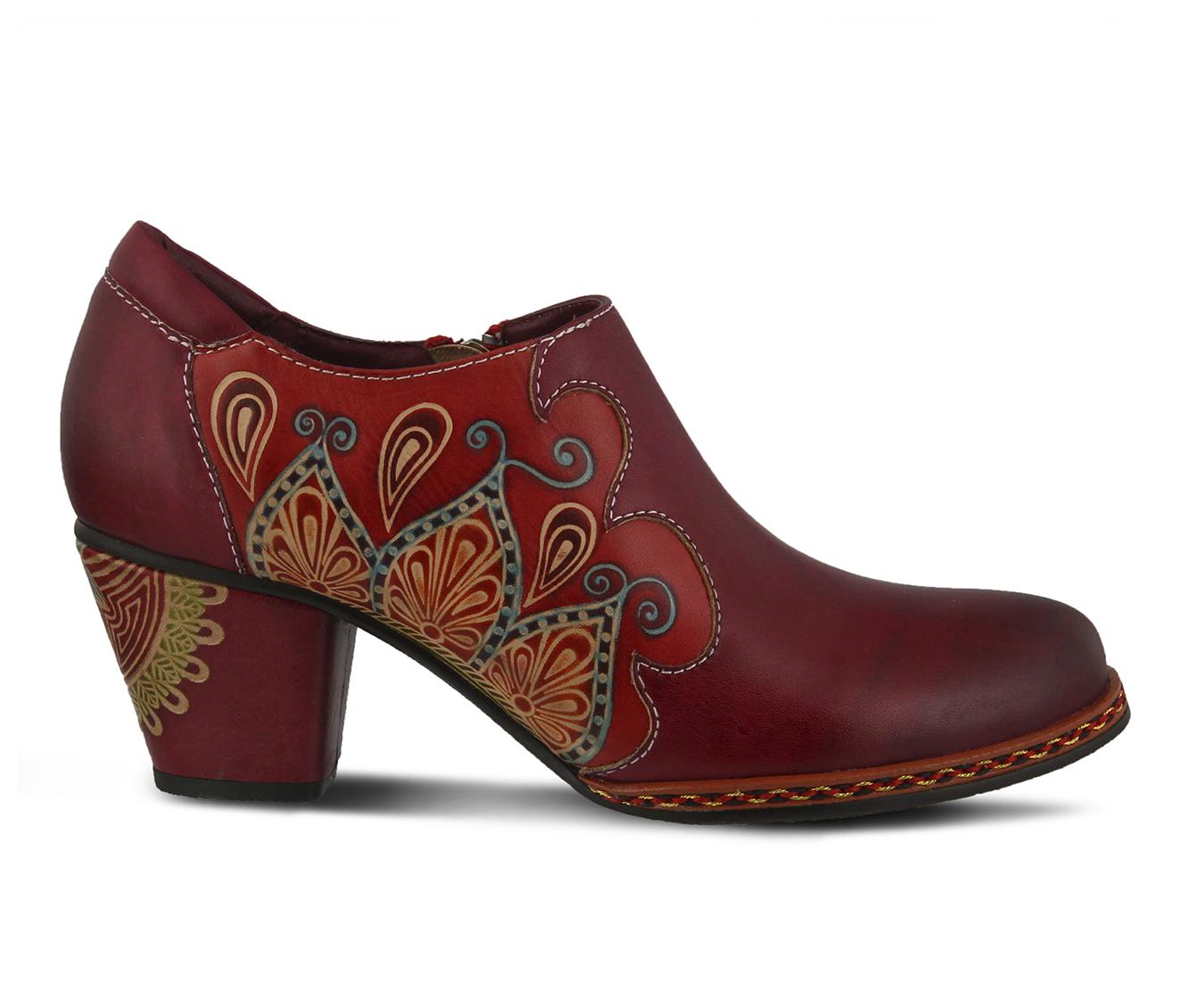 L'Artiste Zami Women's Dress Shoe (Red Leather)