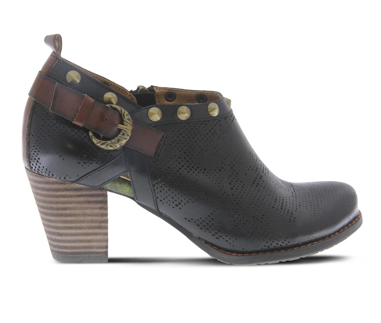 L'Artiste Kacie Women's Dress Shoe (Black Leather)