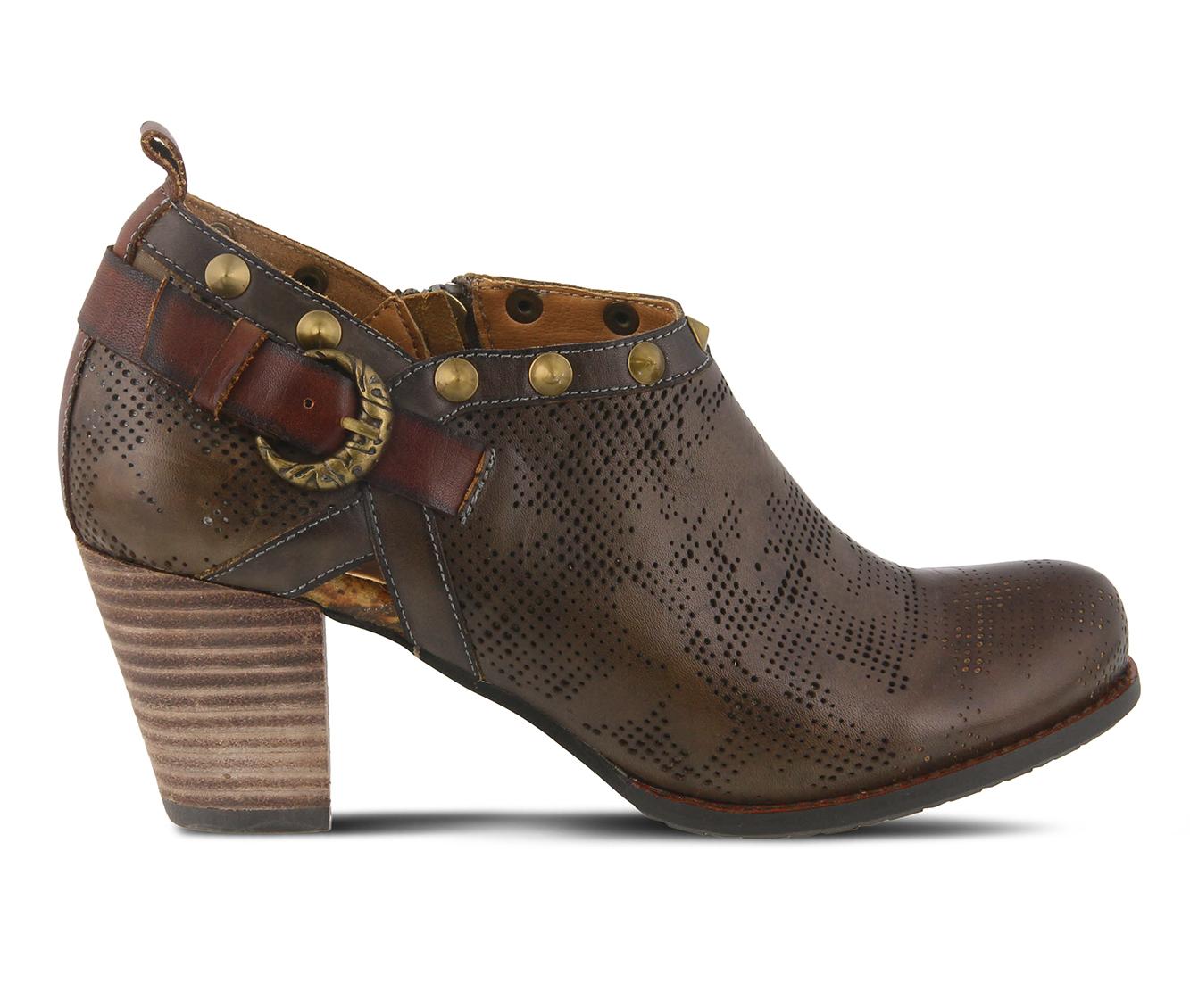 L'Artiste Kacie Women's Dress Shoe (Brown Leather)