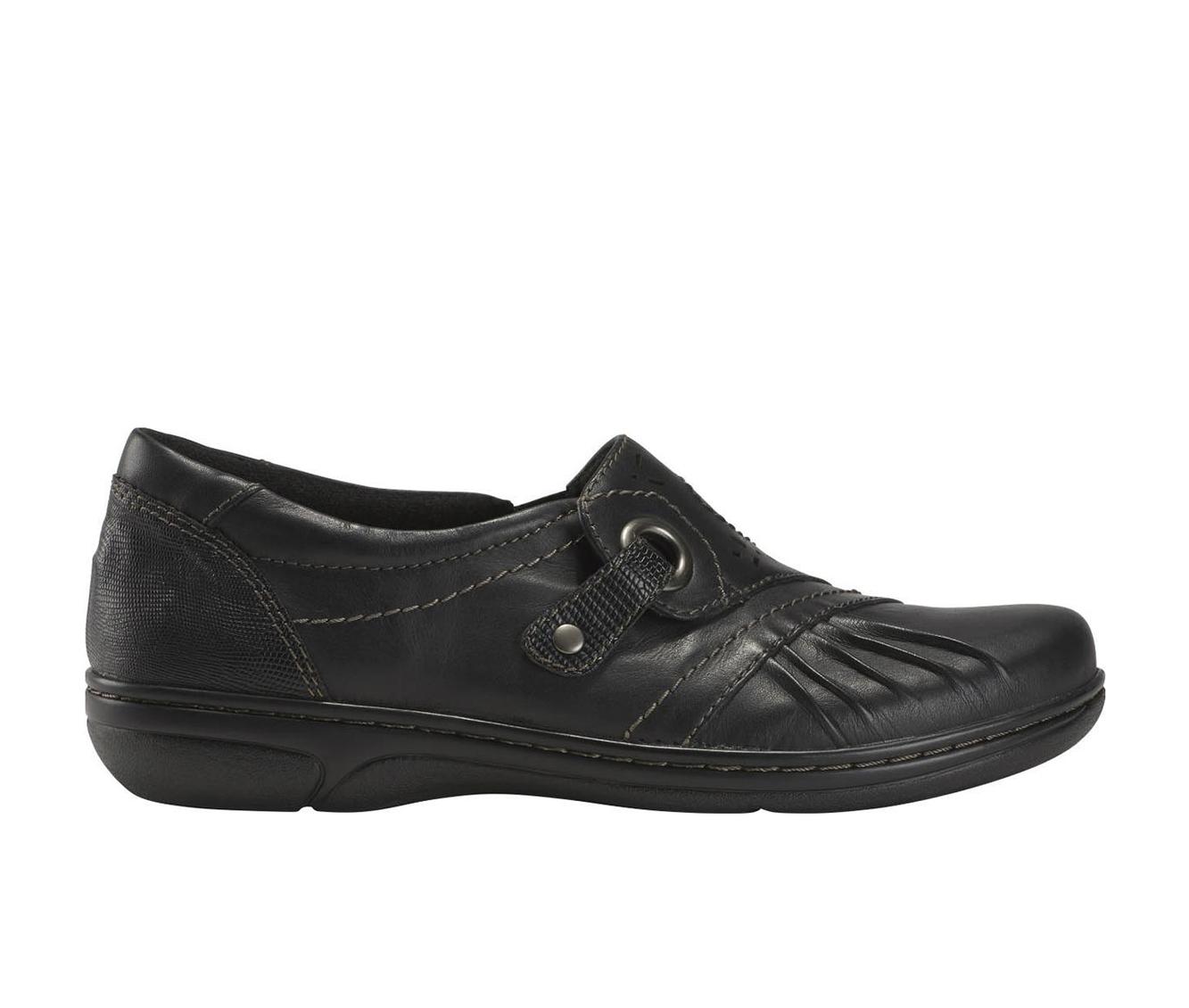 Earth Origins Glendale Gabrielle Women's Shoe (Black Leather)