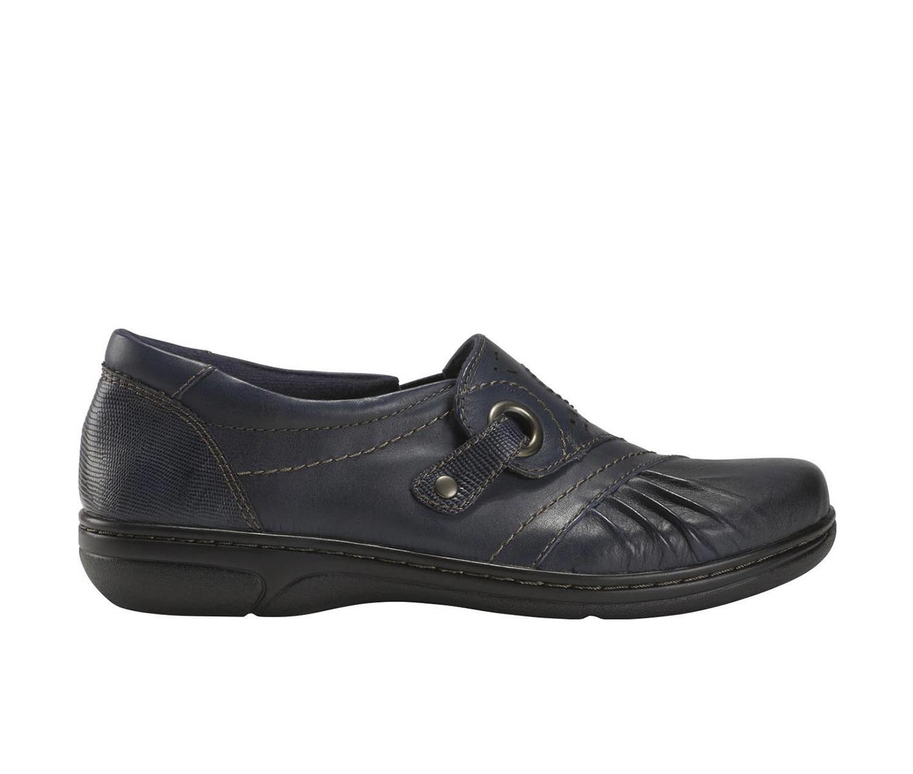 Earth Origins Glendale Gabrielle Women's Shoe (Blue Leather)