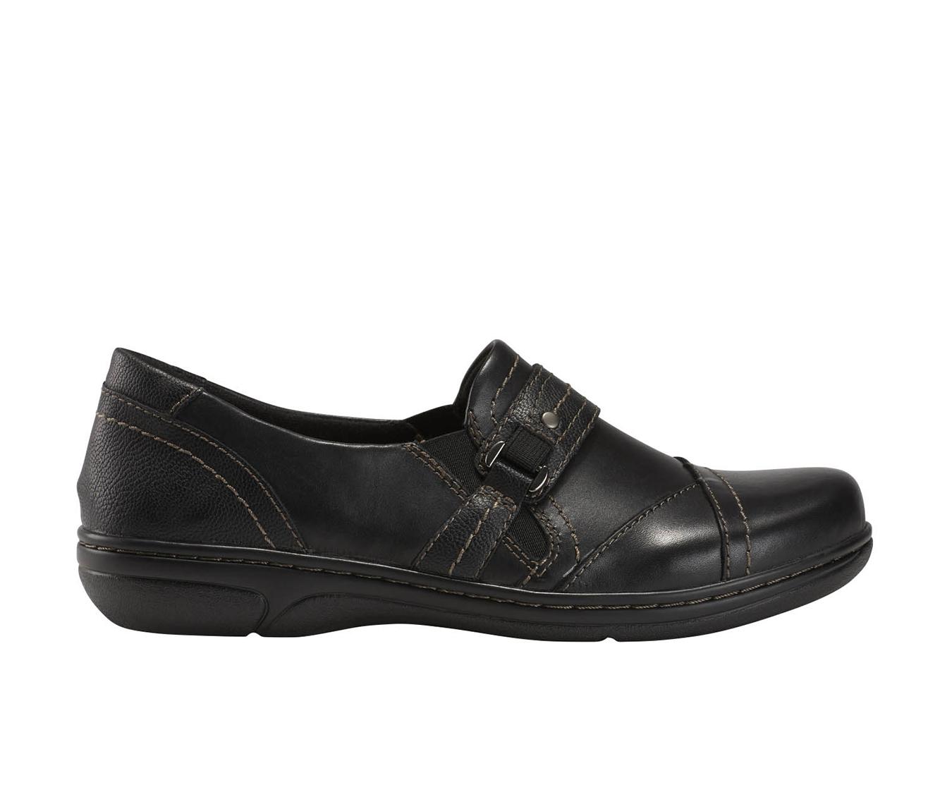 Earth Origins Glendale Gloria Women's Shoe (Black Leather)