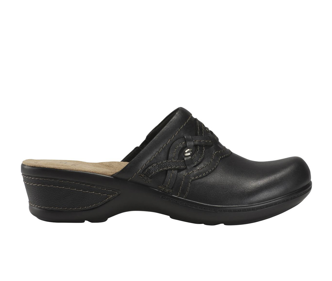 Earth Origins Jackal Janice Women's Shoe (Black Leather)
