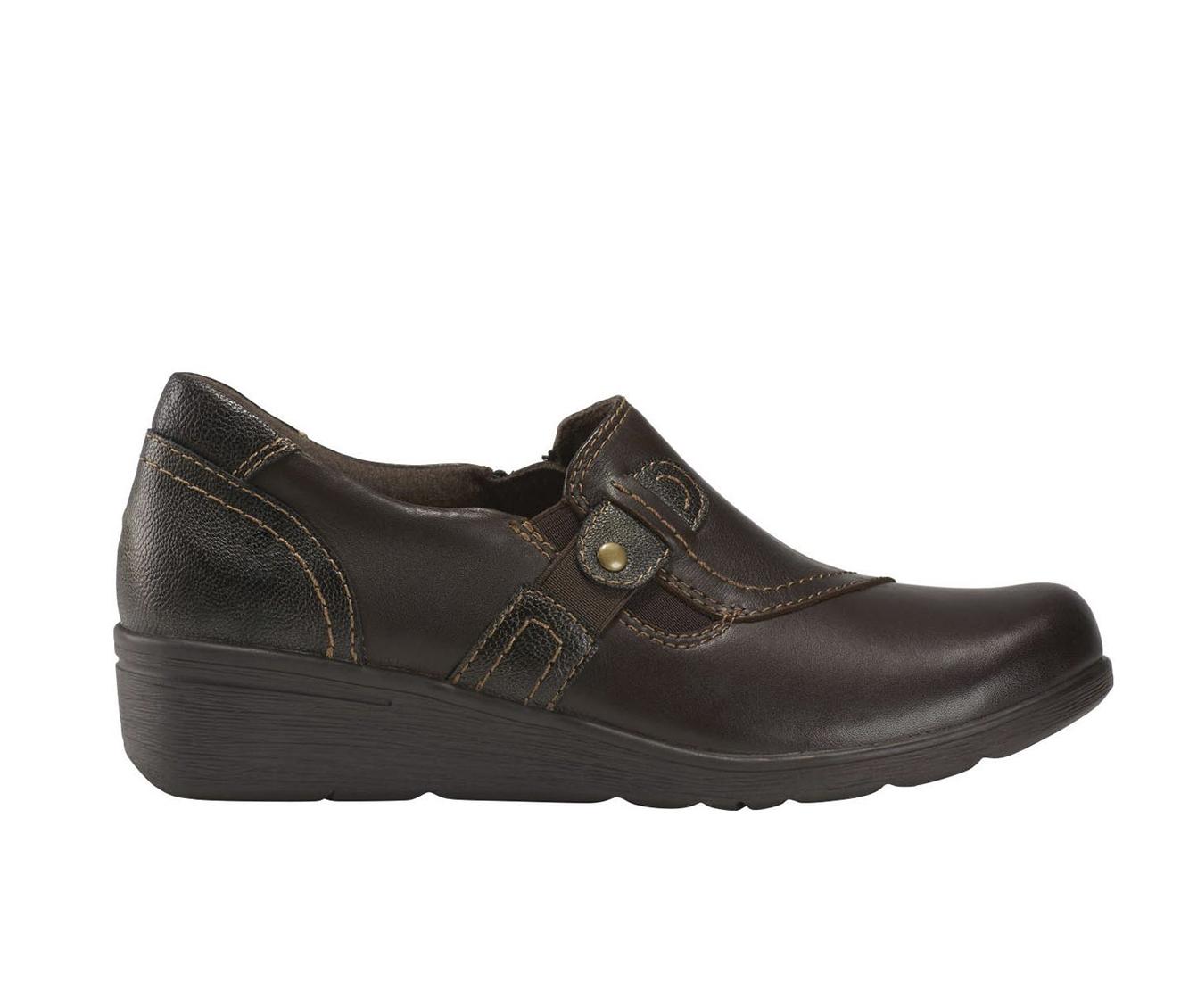 Earth Origins Jane Zena Women's Shoe (Brown Leather)