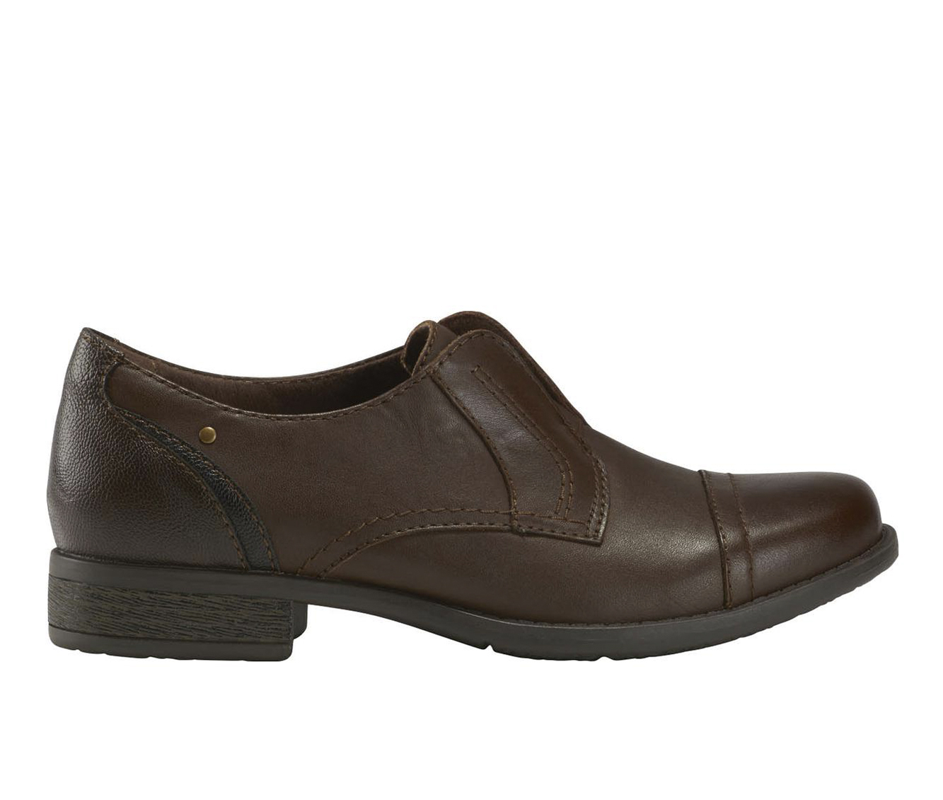 Earth Origins Navigate Nate Women's Shoe (Brown Leather)