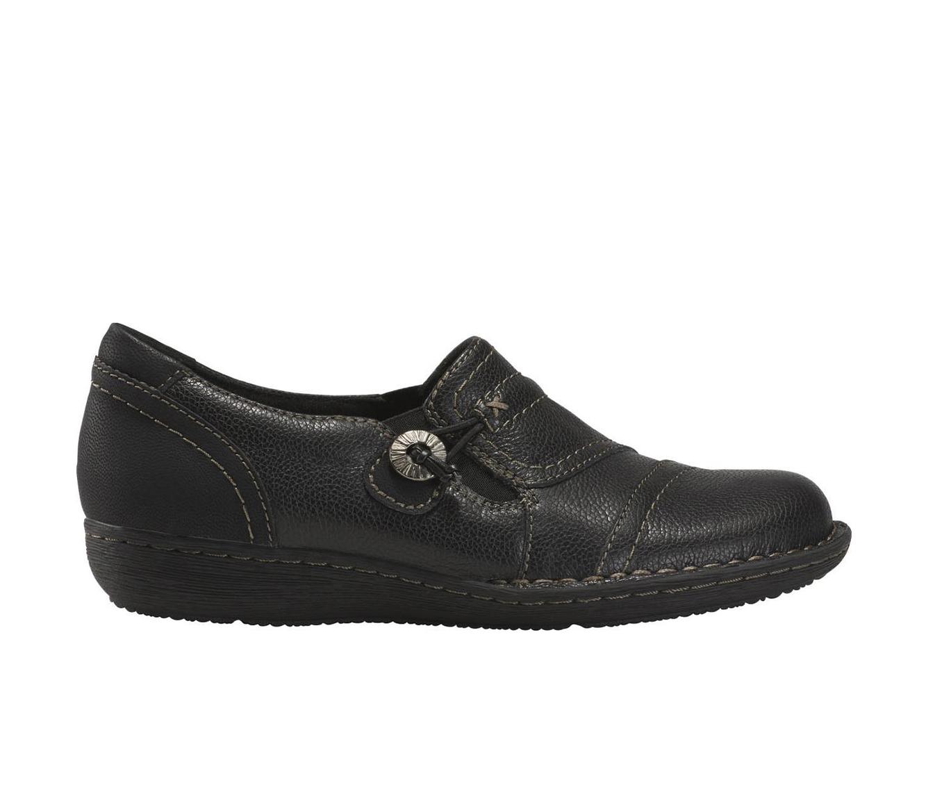 Earth Origins Tamara Tami Women's Shoe (Black Leather)
