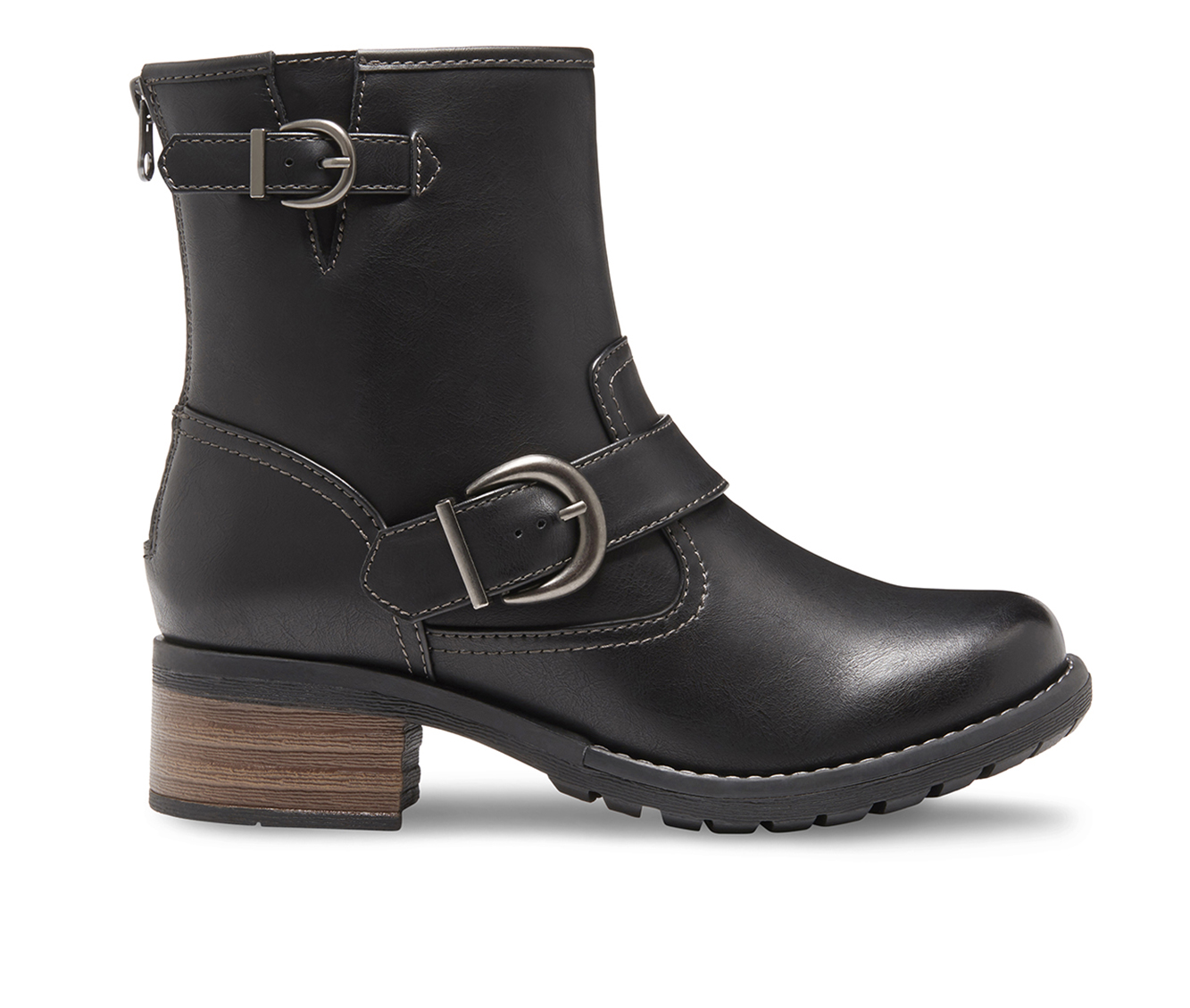 Eastland Ada Women's Boot (Black Leather)