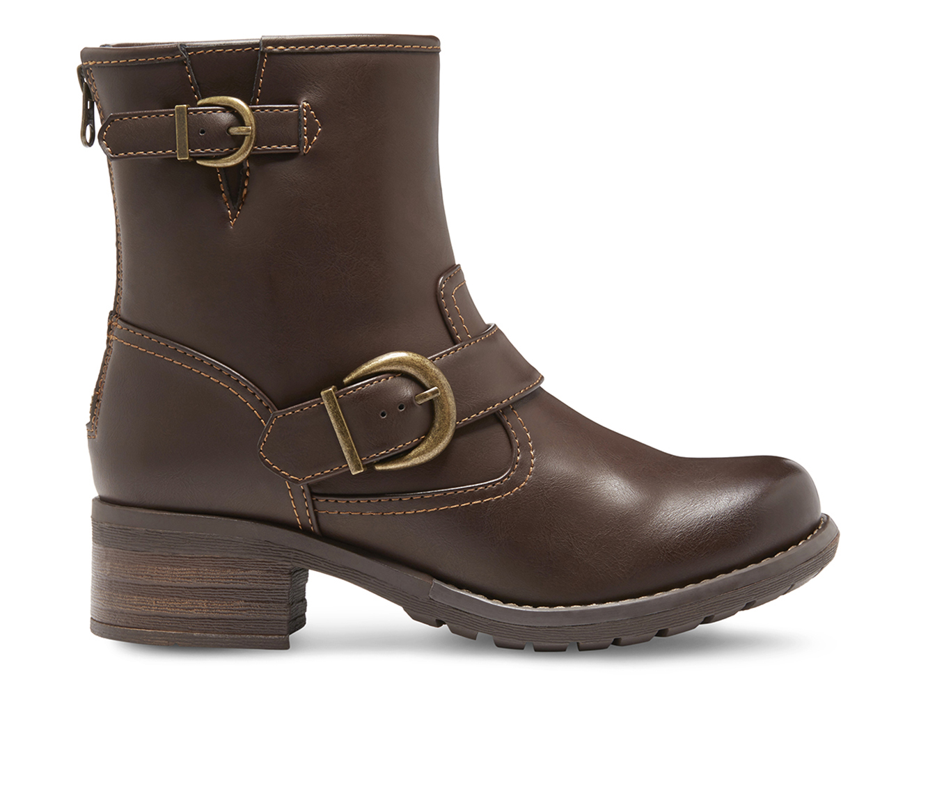 Eastland Ada Women's Boot (Brown Leather)