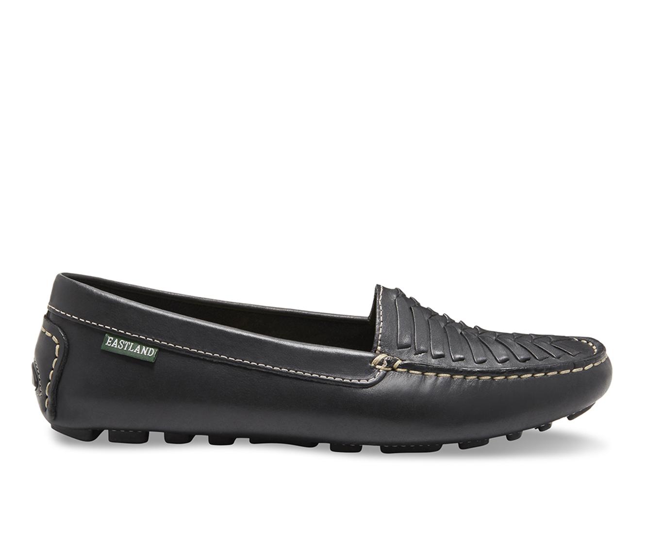 Eastland Debora Women's Shoe (Black Leather)