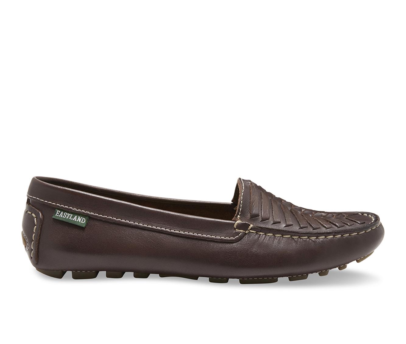 Eastland Debora Women's Shoe (Brown Leather)