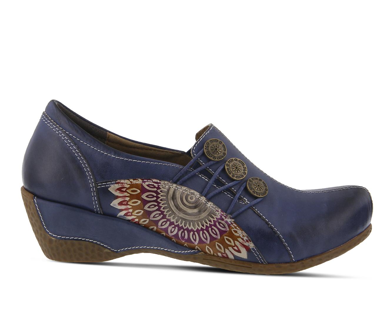 L'Artiste Agacia Women's Shoe (Blue Leather)