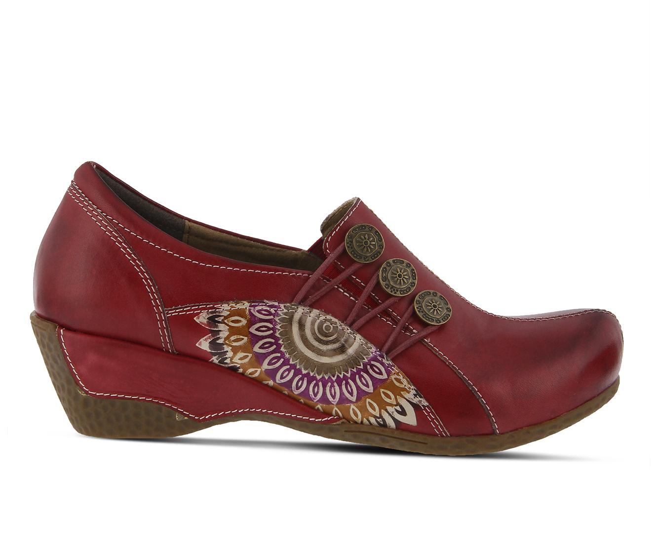 L'Artiste Agacia Women's Shoe (Red Leather)