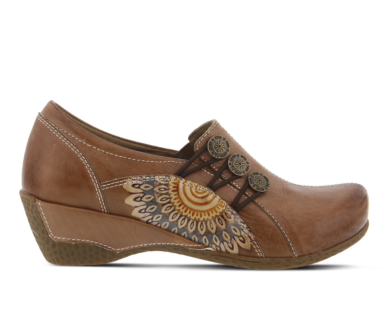 L'Artiste Agacia Women's Shoe (Brown Leather)