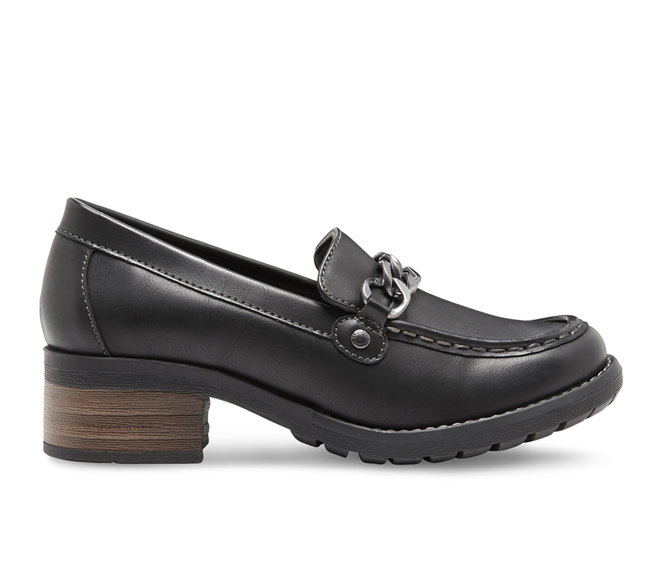 Eastland Nora Women's Shoe (Black Faux Leather)