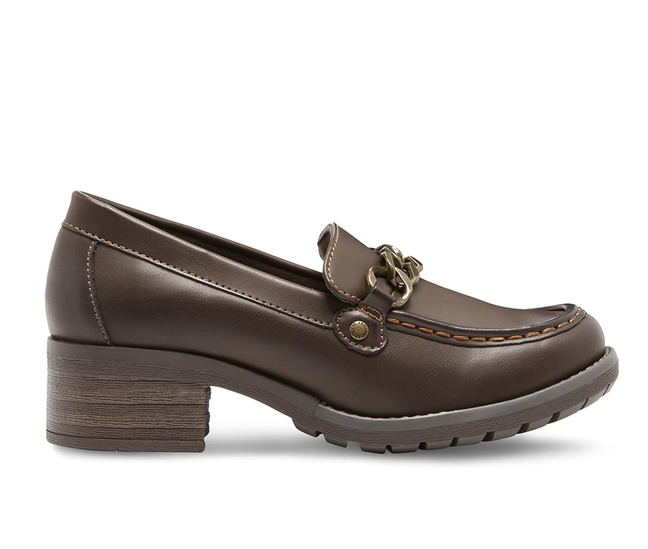 Eastland Nora Women's Shoe (Brown Faux Leather)