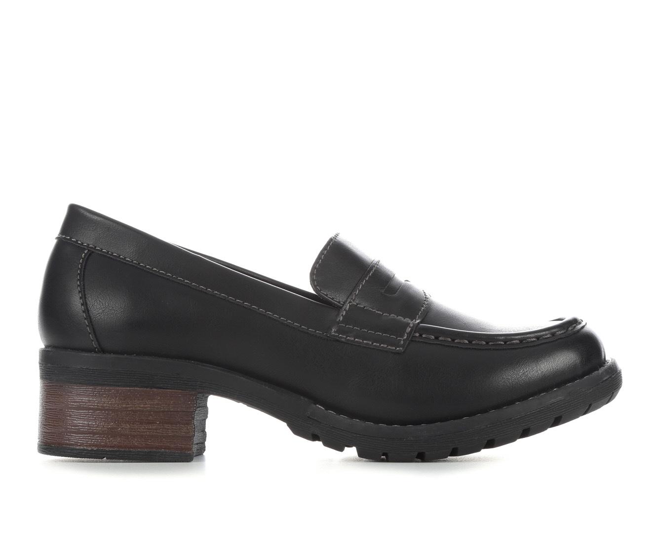 Eastland Holly Women's Shoe (Black Faux Leather)