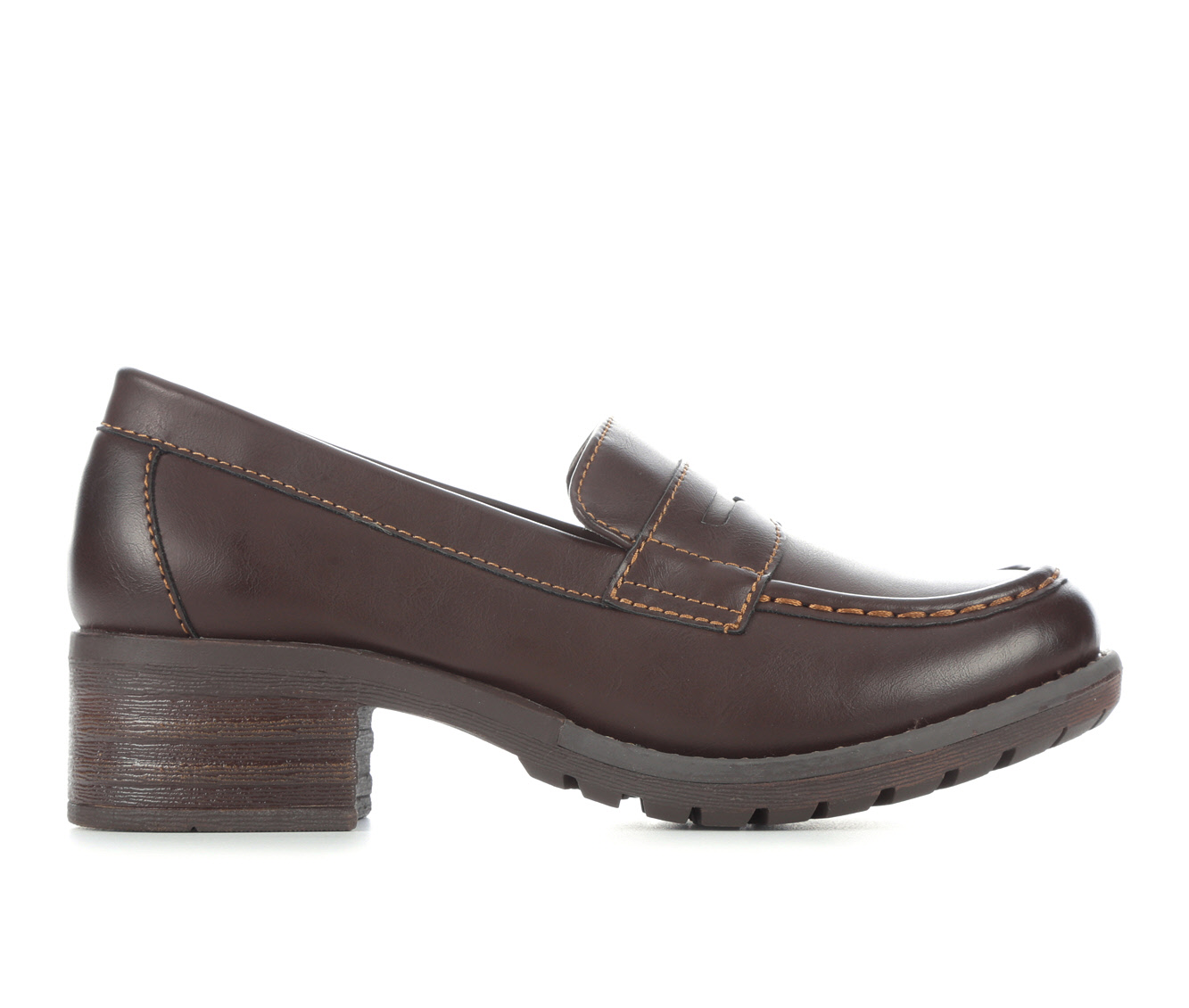 Eastland Holly Women's Shoe (Brown Faux Leather)