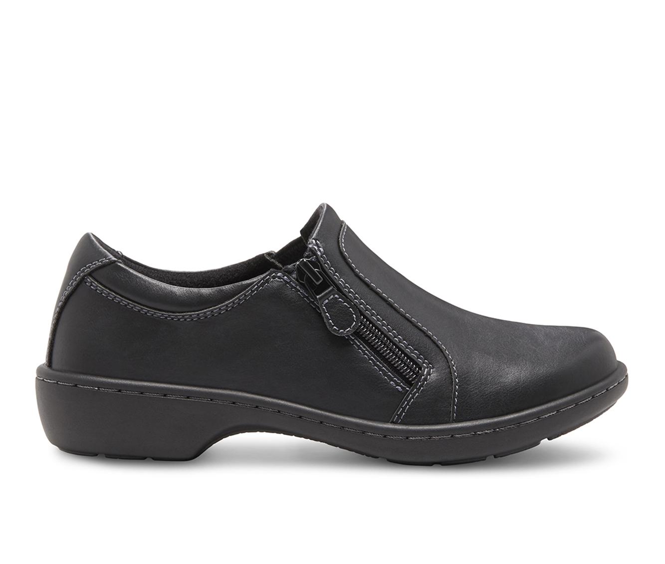 Eastland Vicky Women's Shoe (Black Faux Leather)