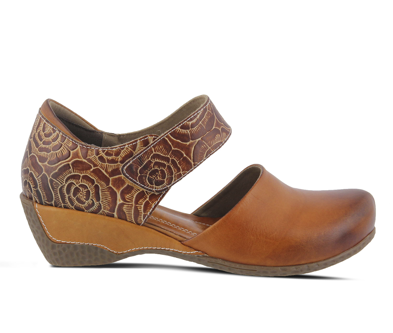 L'Artiste Gloss-Pansy Women's Shoe (Brown Leather)