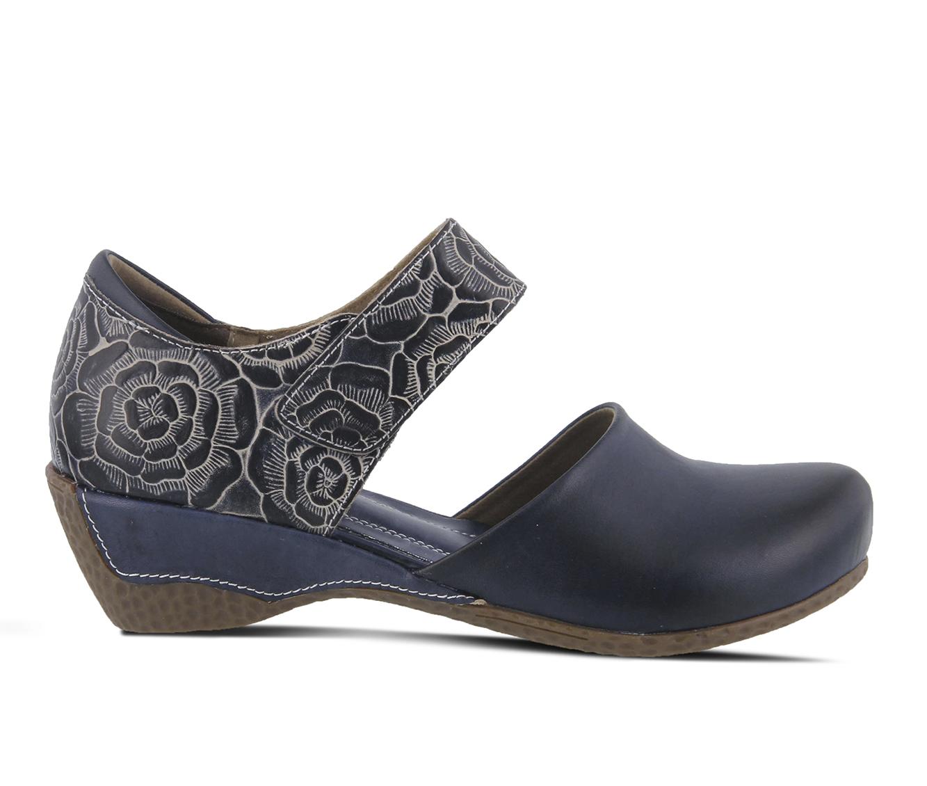 L'Artiste Gloss-Pansy Women's Shoe (Blue Leather)