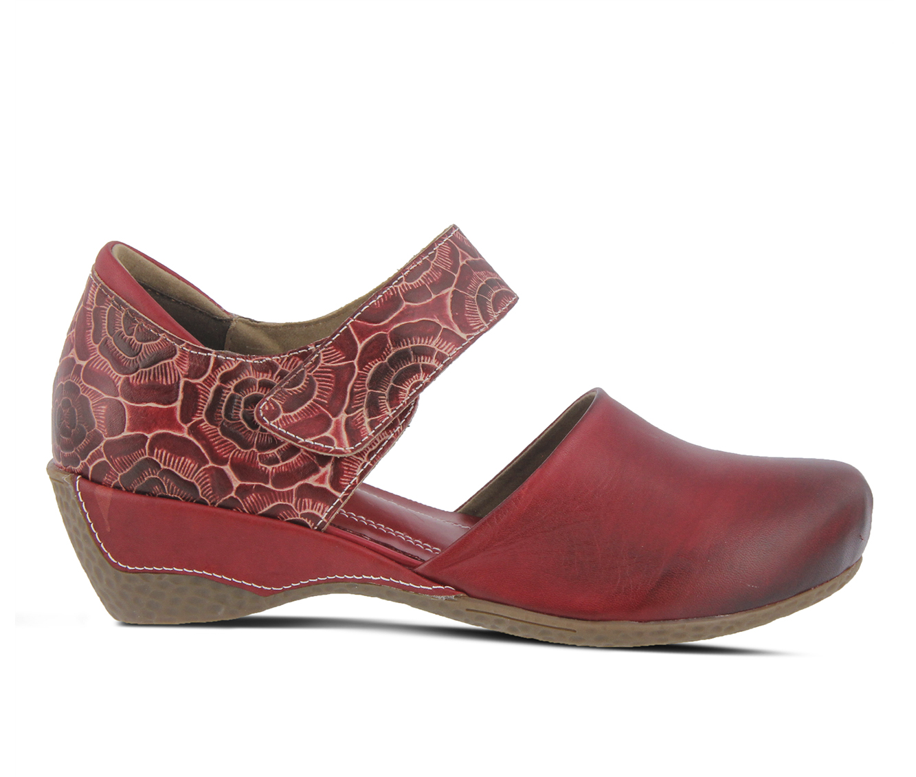 L'Artiste Gloss-Pansy Women's Shoe (Red Leather)