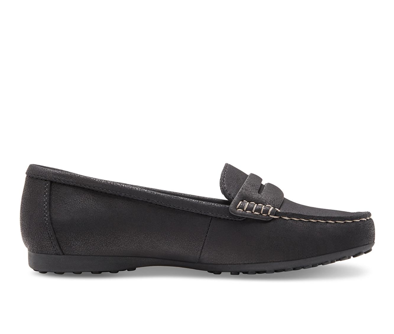 Eastland Montana Women's Shoe (Black Faux Leather)