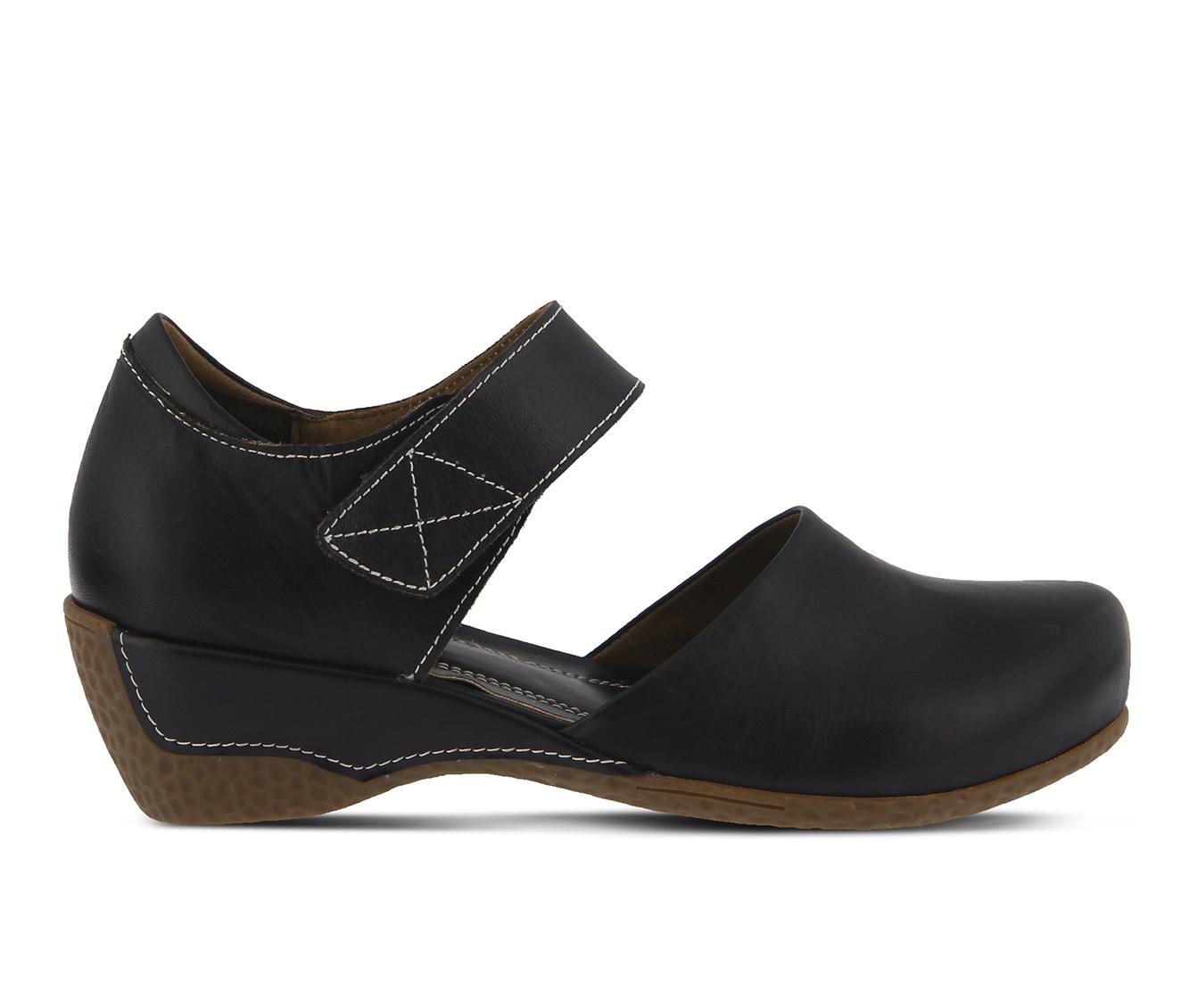 L'Artiste Gloss Women's Shoe (Black Leather)