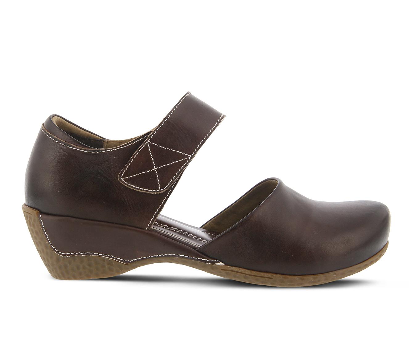 L'Artiste Gloss Women's Shoe (Brown Leather)