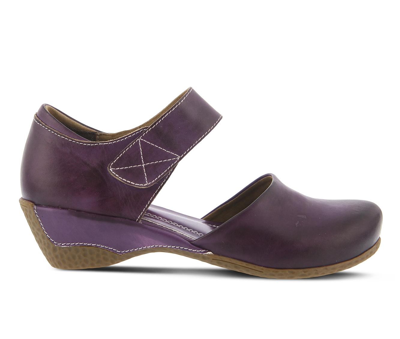 L'Artiste Gloss Women's Shoe (Purple Leather)