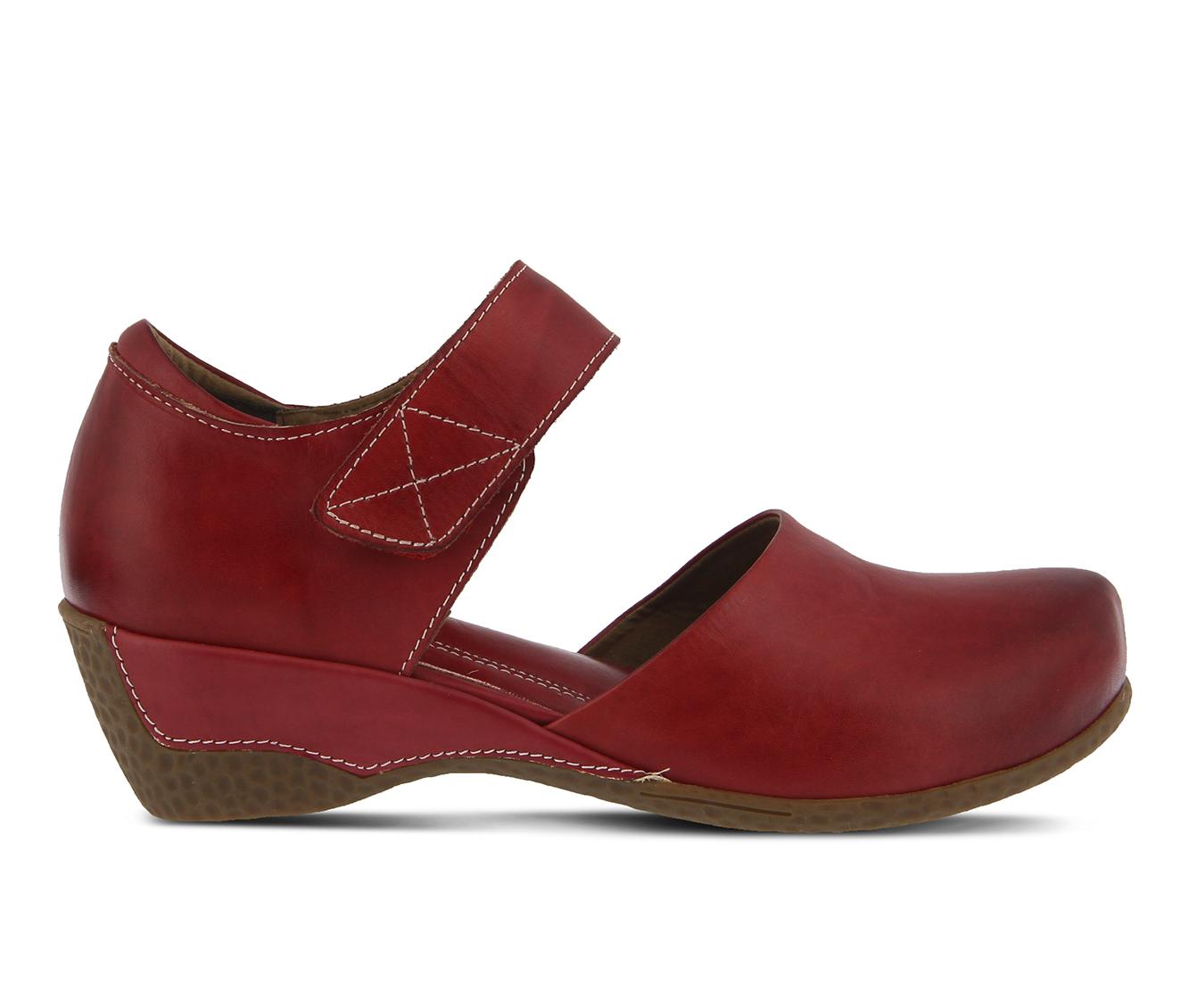 L'Artiste Gloss Women's Shoe (Red Leather)