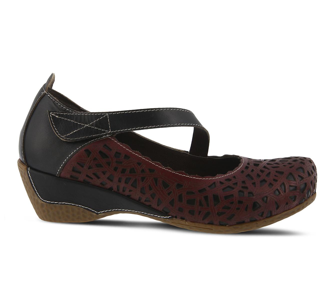 L'Artiste Melinda Women's Shoe (Black Leather)