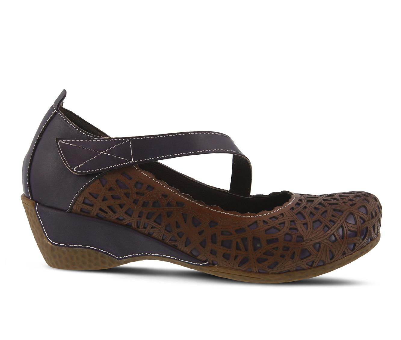 L'Artiste Melinda Women's Shoe (Purple Leather)