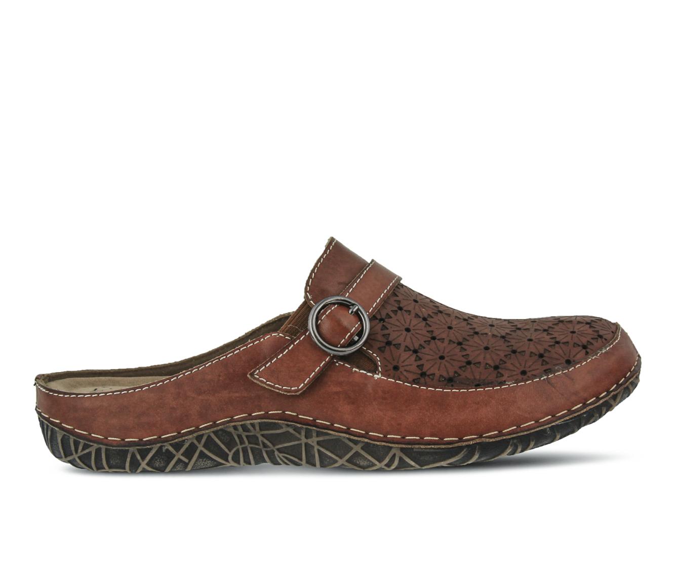 L'Artiste Laniraz Women's Shoe (Brown Leather)