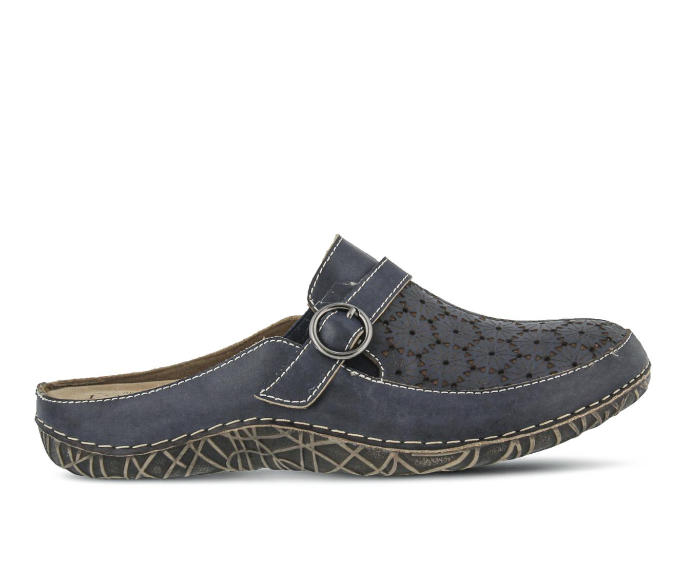 L'Artiste Laniraz Women's Shoe (Blue Leather)