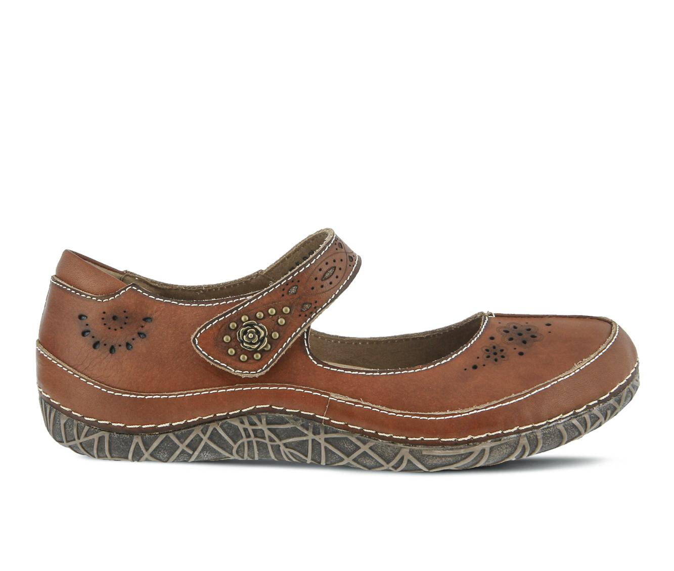 L'Artiste Lazarina Women's Shoe (Brown Leather)
